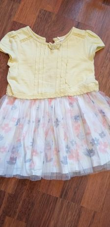 Платье нарядное р.86-92
