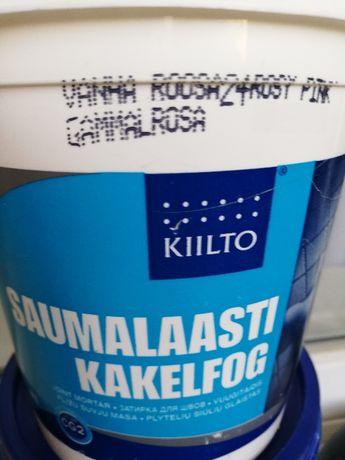 Затирка для швов Kiilto Saumalaasti