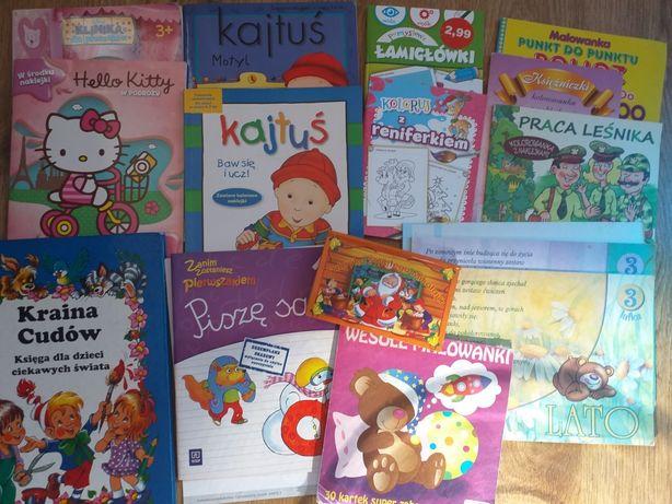 Kolorowanki i książeczka