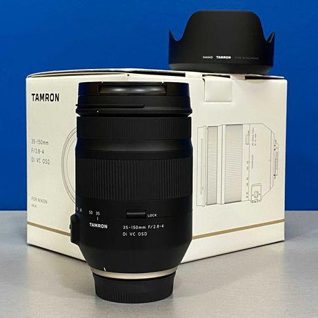Tamron 35-150mm f/2.8-4 Di VC OSD (Nikon) - NOVA - 5 ANOS DE GARANTIA