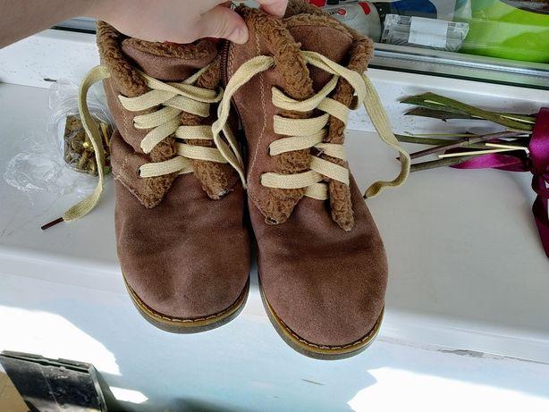 Ботинки чобітки сапожки нубук
