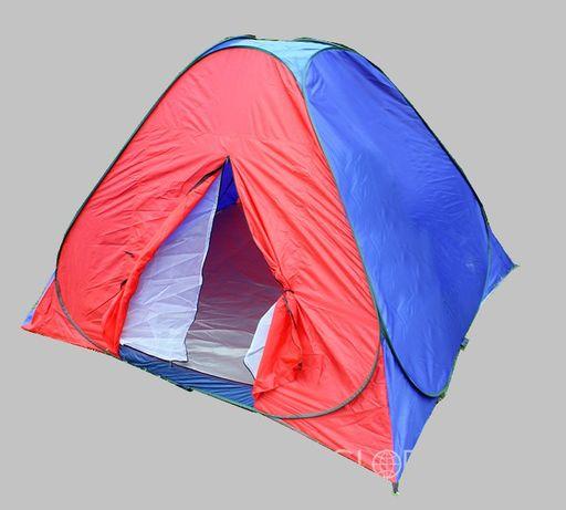 2818 Namiot SAMOROZKŁADAJĄCY SIĘ + Moskitiera 2x2m 4-5os. Nowy