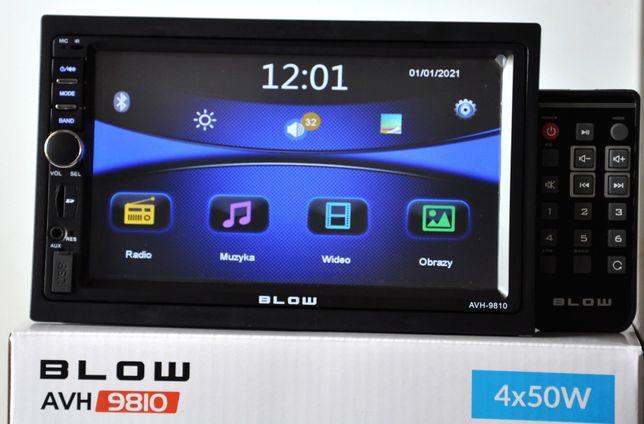 Radio Samochodowe BLOW 2DIN USB SD Mirror Link Ekran 7' MP5 MP3 RDS