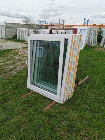 Okna 116x137 okno pcv z demontażu Niemieckie DOWÓZ CAŁY KRAJ