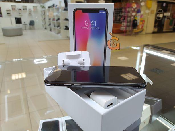 "Магазин ""G8"" iPhone X Space Gray 256gb гарантия 3 месяца"