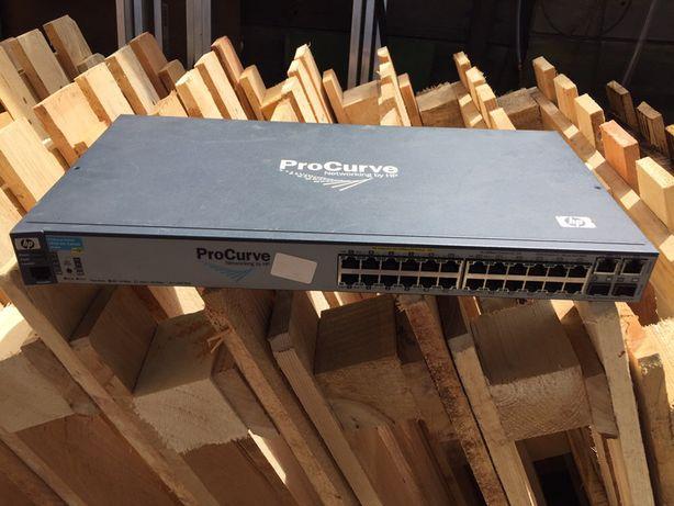 Switch IP HP 2610-24 POE do kamer