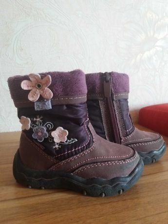 Зимние ботинки, сапоги на девочку