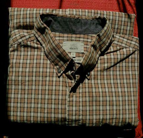 Рубашка новая мужская XL плечи 51см