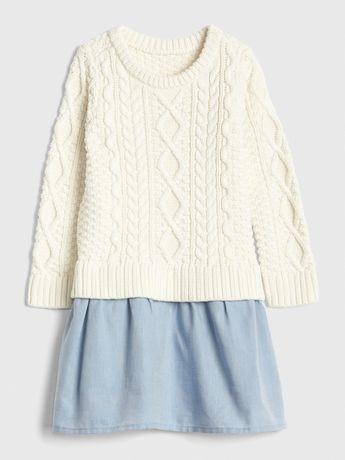 Платье-свитер Gap, 12-18 мес.