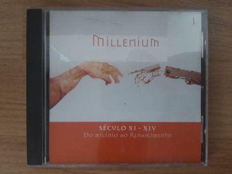 MILLENIUM n°1 Século XI-XIV Do Milénio ao Renascimento (CD-ROM)