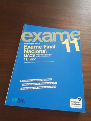 Manual de Preparação para Exame Final Nacional de MACS 11.º ano