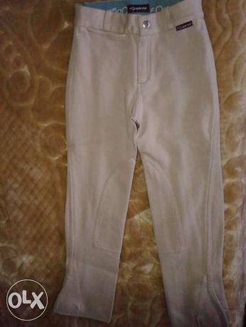 Equitação tenho Capacete, luvas, polainas e calças p/ 7/8 anos.