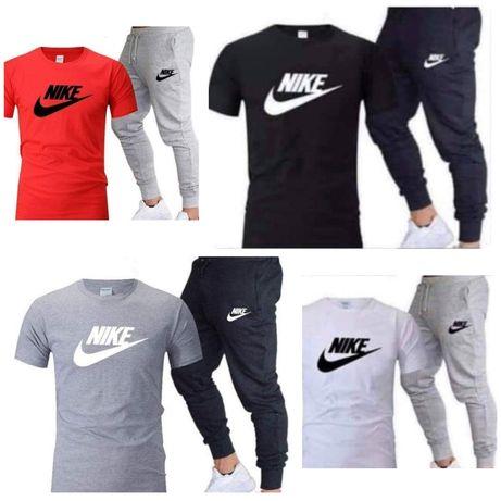 Dres zestaw meski spodnie tshirt koszulka Nike fila m l xl xxl