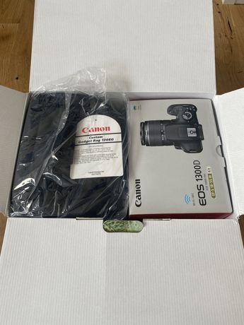 Nowy aparat Canon 1300 D z torba i karta pamięci