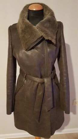 Płaszcz kożuszek damski rozm.38