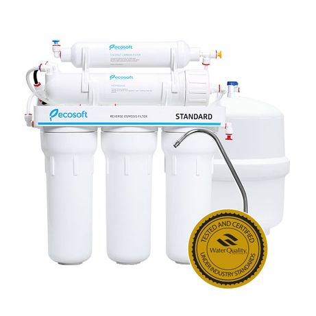 ОБРАТНЫЙ ОСМОС Стандарт Фильтр воды система обратного Ecosoft Standard
