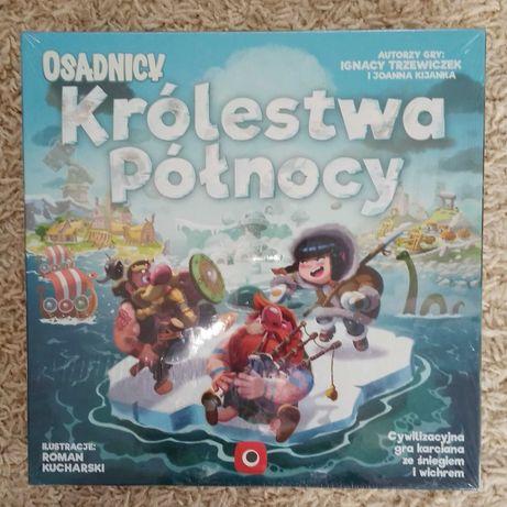 Osadnicy Królestwo Północy Portal Games Gra Planszowa Nowa Folia