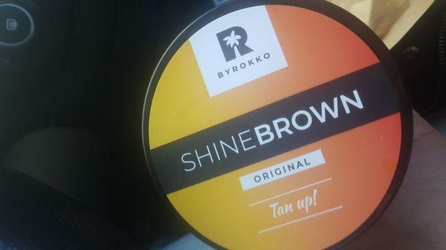Shine Brown Byrokko orginał solarium I na słońce