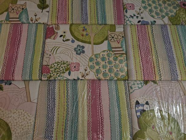 Wezgłowie tapicerowane / zagłówek 200 do łóżka dziecięcego różowy