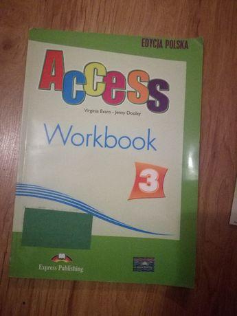 Access 3, workbook, gimnazjum, Express Publishing, zeszyt ćwiczeń