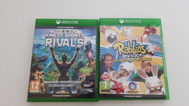 Kinect Sports Rivals, Rabbids Invasion, gry xbox one