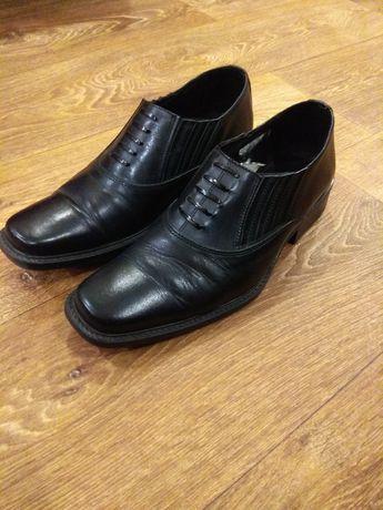 Черные туфли весна-осень