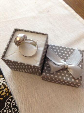 Pierścionek srebrny kopułka - prezent