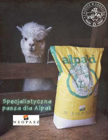 Pasza dla Alpak, Alpaka, worek 20 kg