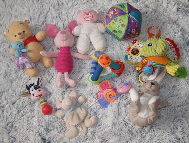 Zestaw zabawek dla maluszka 10 sztuk