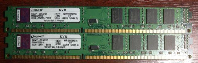 Оперативна пам'ять DDR3 2x2GB 1333MHz Kingston