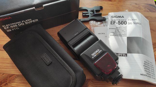 Фотовспышка Sigma EF-500 DG Super Pentax