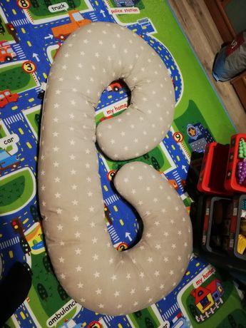 Poduszka do spania ciążowa rogal