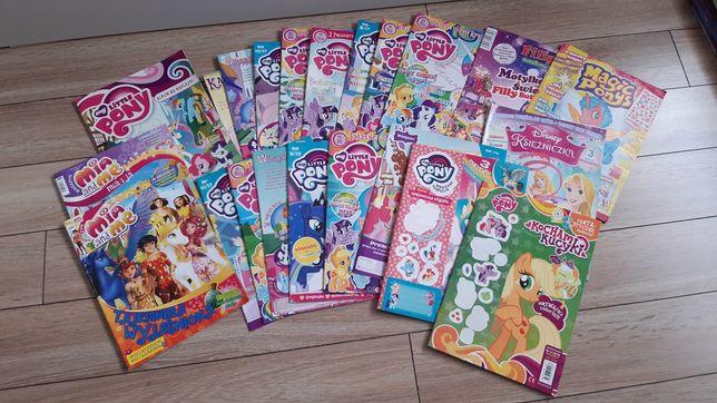 My Little Pony kucyki zestaw archiwalnych gazet gazetki gazetka kucyk