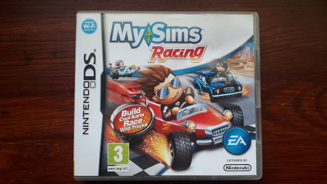 gra nintendo DS My Sims Racing