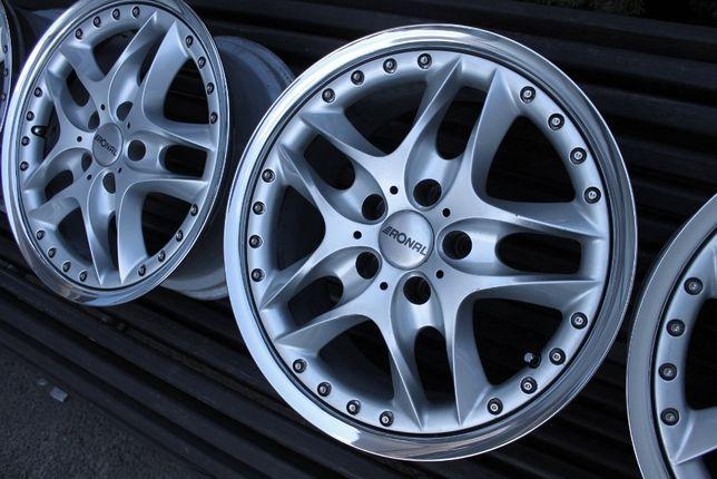 Felgi RONAL LZ7 5x112 Mercedes Audi VW 17stki skręcane 2tlg polerowane