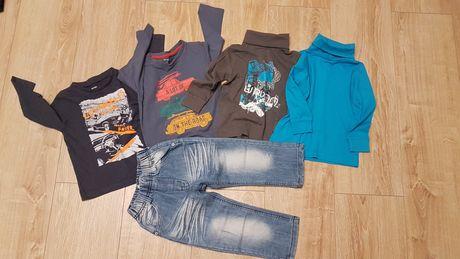 Zestaw spodnie j bluzki