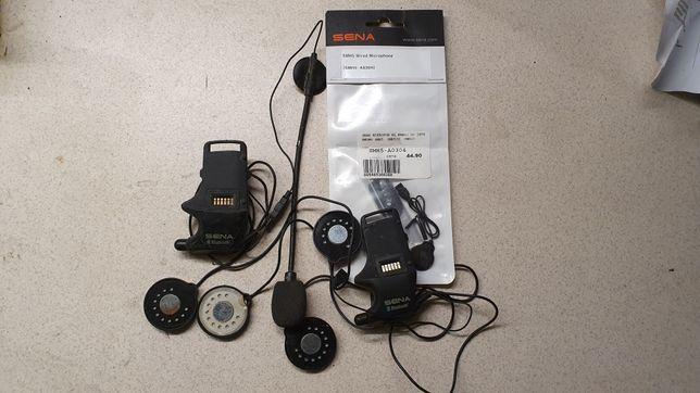 Interkom Sena smh5 smh10 baza + mikrofony