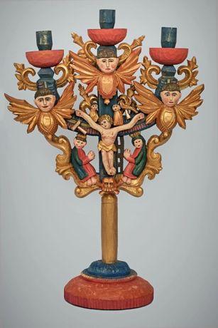 Свічник-трійця-підсвічник, канделябр