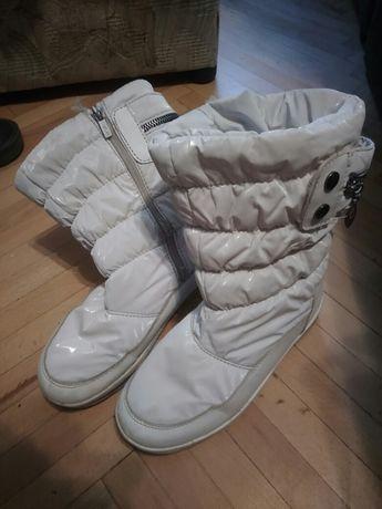Сапоги угги ботинки зимние на девочку, стелька 22см