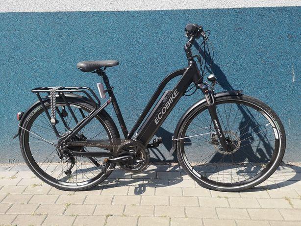 "Rower elektryczny EcoBike S-Cross L Black 19"" 13Ah 36V LG"