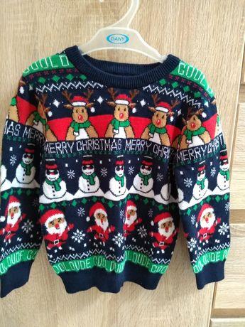 Sweter świąteczny Primark