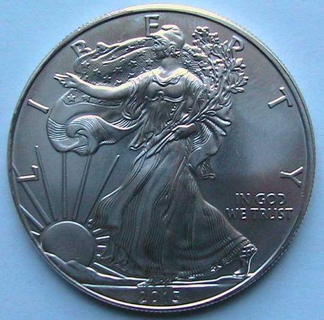США 1 доллар 2013 Американский серебряный орёл Серебро 0.999 1 Oz