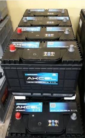 Akumulator Akcel  12V105AH800A JCB Caterpillar odpowiednik Varta H17