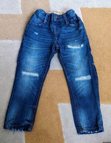 Spodnie dżinsy przecierane Denim Co. rozmiar 104 jeansy dla chlopca