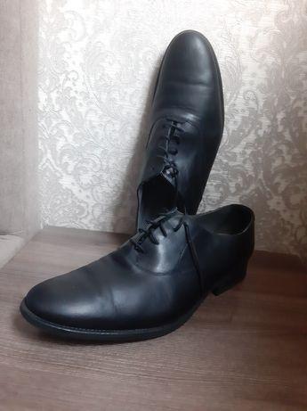 Туфли zara размер 46 классика чёрные