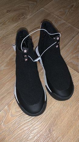 Zara кеды носки 28 размер