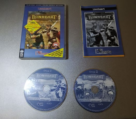 Lionheart - legacy of the crusader - gra pc