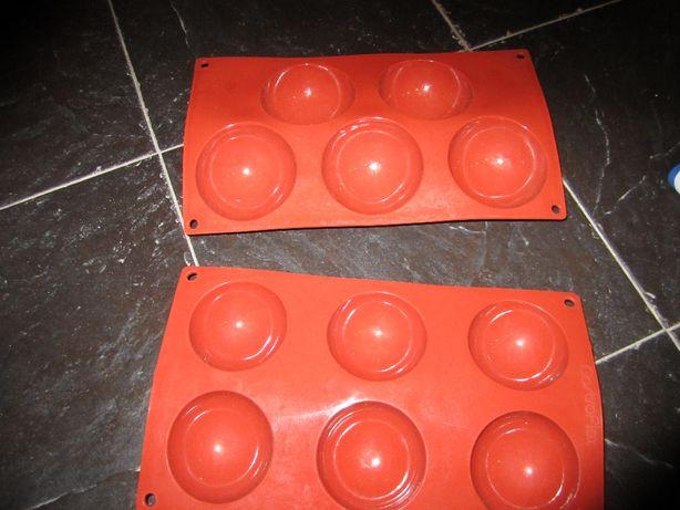 Formas silicone pastelaria