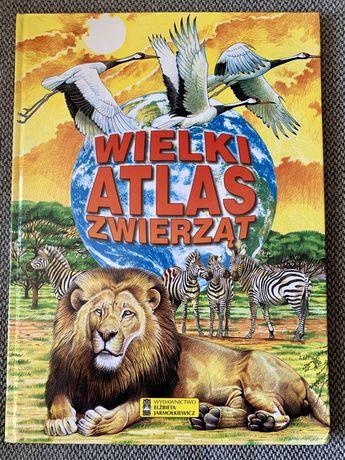 Wielki atlas zwierząt, oprawa twarda