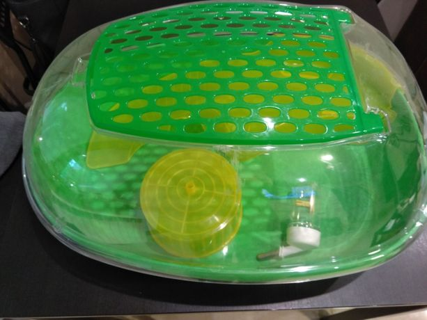 Akwarium plastikowe dla gryzoni